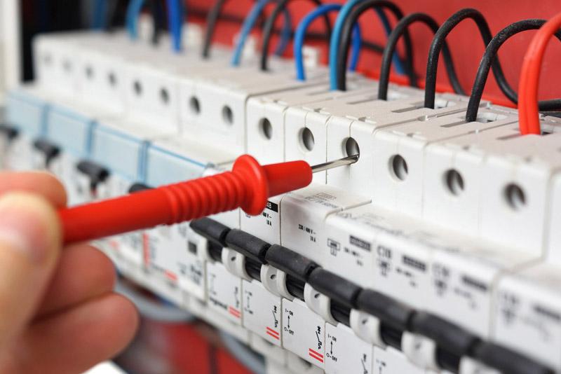 Photo d'une installation électrique sécurisée pour les enfants