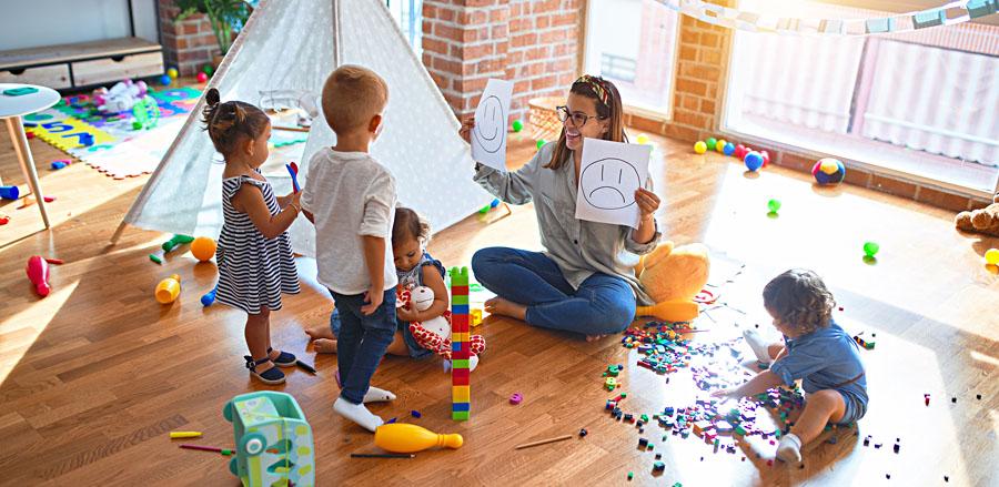 Pédagogie Montessori: pour l'apprentissage de l'enfant